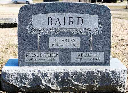 BAIRD, NELLIE E - Richland County, Ohio | NELLIE E BAIRD - Ohio Gravestone Photos