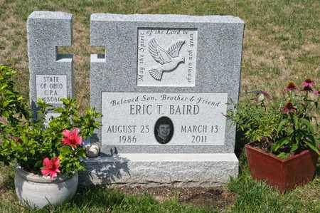 BAIRD, ERIC T - Richland County, Ohio | ERIC T BAIRD - Ohio Gravestone Photos