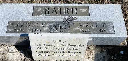BAIRD, VIRGIL C - Richland County, Ohio | VIRGIL C BAIRD - Ohio Gravestone Photos