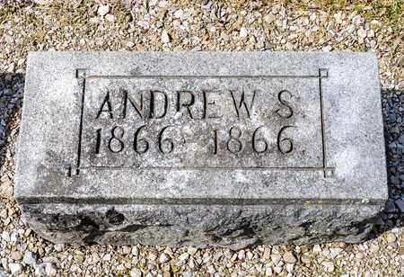 BAKER, ANDREW S - Richland County, Ohio | ANDREW S BAKER - Ohio Gravestone Photos