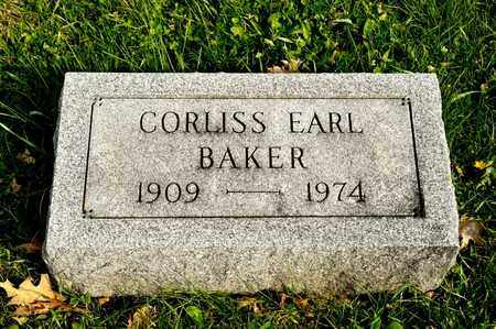 EARL BAKER, CORLISS - Richland County, Ohio | CORLISS EARL BAKER - Ohio Gravestone Photos