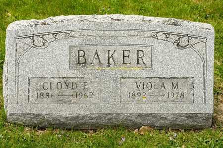 BAKER, CLOYD E - Richland County, Ohio | CLOYD E BAKER - Ohio Gravestone Photos