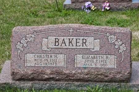 BAKER, CHESTER H - Richland County, Ohio | CHESTER H BAKER - Ohio Gravestone Photos