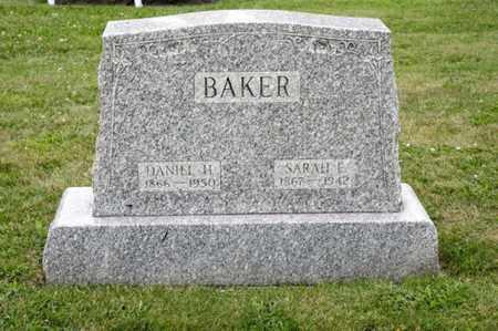 BAKER, DANIEL H - Richland County, Ohio | DANIEL H BAKER - Ohio Gravestone Photos