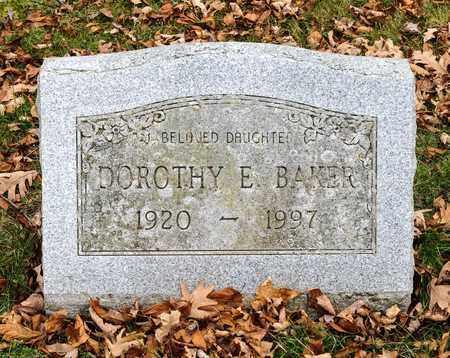 BAKER, DOROTHY E - Richland County, Ohio | DOROTHY E BAKER - Ohio Gravestone Photos