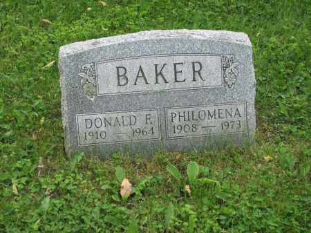 BAKER, PHILOMENA - Richland County, Ohio | PHILOMENA BAKER - Ohio Gravestone Photos