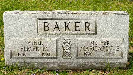 BAKER, ELMER M - Richland County, Ohio | ELMER M BAKER - Ohio Gravestone Photos
