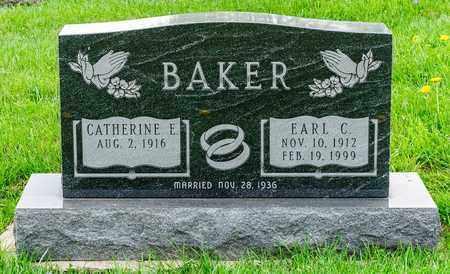 BAKER, EARL C - Richland County, Ohio | EARL C BAKER - Ohio Gravestone Photos