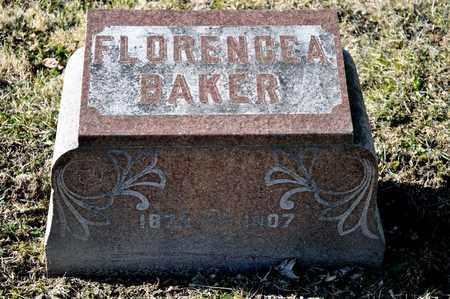 BAKER, FLORENCE A - Richland County, Ohio   FLORENCE A BAKER - Ohio Gravestone Photos