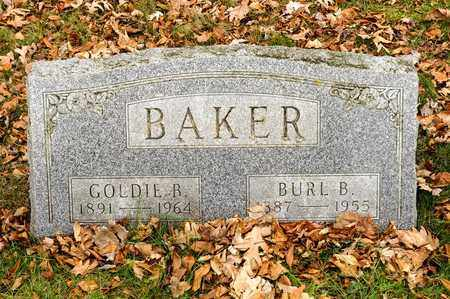 BAKER, BURL B - Richland County, Ohio | BURL B BAKER - Ohio Gravestone Photos