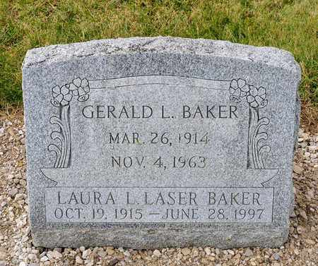 BAKER, LAURA L - Richland County, Ohio | LAURA L BAKER - Ohio Gravestone Photos
