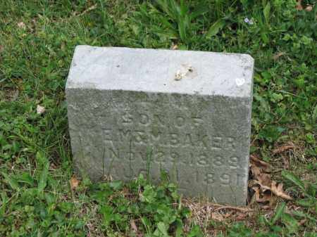 BAKER, GLEN R. - Richland County, Ohio | GLEN R. BAKER - Ohio Gravestone Photos