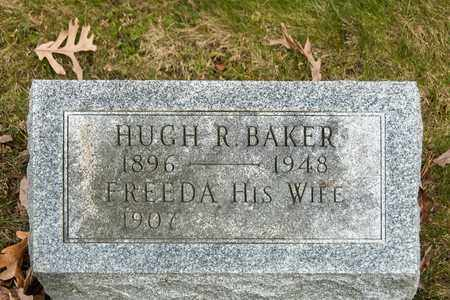 BAKER, HUGH R - Richland County, Ohio | HUGH R BAKER - Ohio Gravestone Photos
