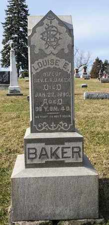 BAKER, LOUISE E - Richland County, Ohio | LOUISE E BAKER - Ohio Gravestone Photos