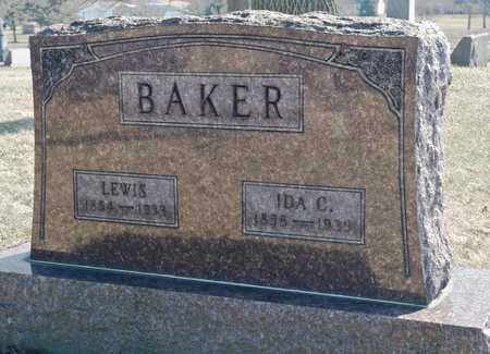 BAKER, LEWIS - Richland County, Ohio | LEWIS BAKER - Ohio Gravestone Photos