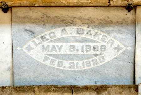 BAKER, LEO A - Richland County, Ohio | LEO A BAKER - Ohio Gravestone Photos