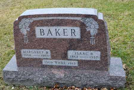 BAKER, ISAAC B - Richland County, Ohio | ISAAC B BAKER - Ohio Gravestone Photos