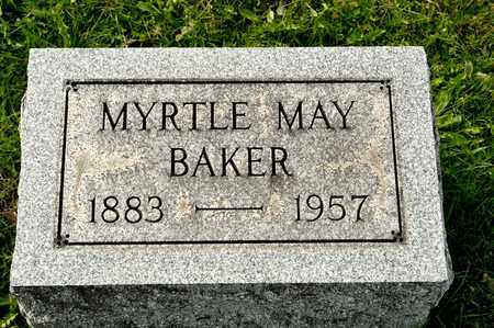 BAKER, MYRTLE MAY - Richland County, Ohio | MYRTLE MAY BAKER - Ohio Gravestone Photos