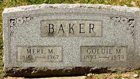 BAKER, GOLDIE M - Richland County, Ohio | GOLDIE M BAKER - Ohio Gravestone Photos