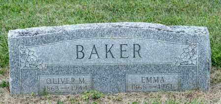 BAKER, EMMA - Richland County, Ohio | EMMA BAKER - Ohio Gravestone Photos