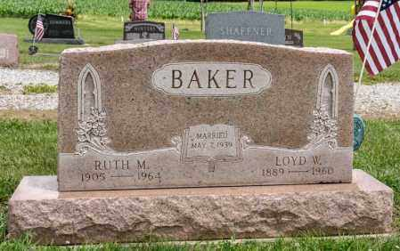 BAKER, RUTH M - Richland County, Ohio | RUTH M BAKER - Ohio Gravestone Photos
