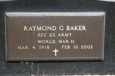 BAKER, RAYMOND G - Richland County, Ohio | RAYMOND G BAKER - Ohio Gravestone Photos