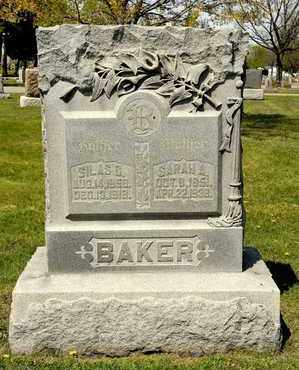BAKER, SILAS C - Richland County, Ohio | SILAS C BAKER - Ohio Gravestone Photos