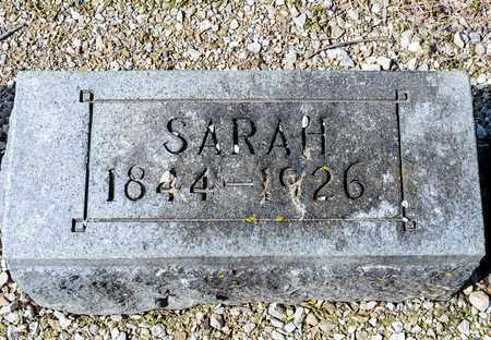 BAKER, SARAH - Richland County, Ohio | SARAH BAKER - Ohio Gravestone Photos