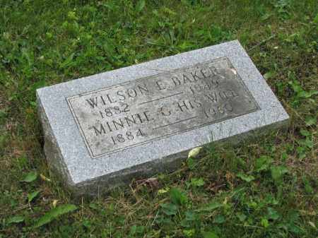 BAKER, MINNIE G. - Richland County, Ohio | MINNIE G. BAKER - Ohio Gravestone Photos