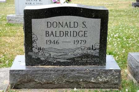 BALDRIDGE, DONALD S - Richland County, Ohio | DONALD S BALDRIDGE - Ohio Gravestone Photos