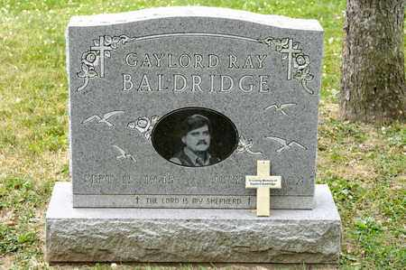 BALDRIDGE, GAYLORD RAY - Richland County, Ohio | GAYLORD RAY BALDRIDGE - Ohio Gravestone Photos