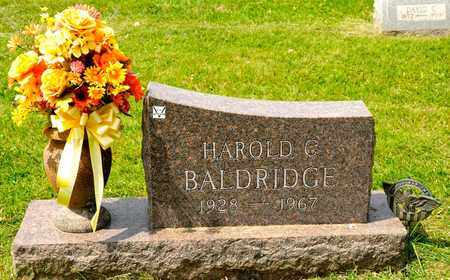 BALDRIDGE, HAROLD C - Richland County, Ohio | HAROLD C BALDRIDGE - Ohio Gravestone Photos
