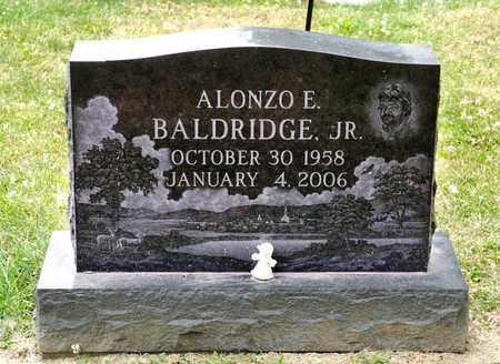 BALDRIDGE JR, ALONZO E - Richland County, Ohio | ALONZO E BALDRIDGE JR - Ohio Gravestone Photos