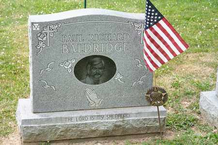 BALDRIDGE, PAUL RICHARD - Richland County, Ohio | PAUL RICHARD BALDRIDGE - Ohio Gravestone Photos