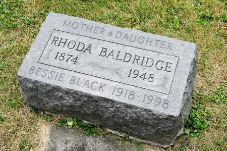 BLACK, BESSIE - Richland County, Ohio | BESSIE BLACK - Ohio Gravestone Photos