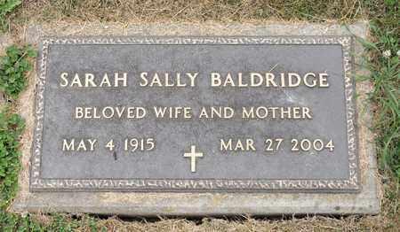 BALDRIDGE, SARAH SALLY - Richland County, Ohio | SARAH SALLY BALDRIDGE - Ohio Gravestone Photos