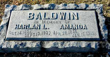 BALDWIN, AMANDA - Richland County, Ohio | AMANDA BALDWIN - Ohio Gravestone Photos