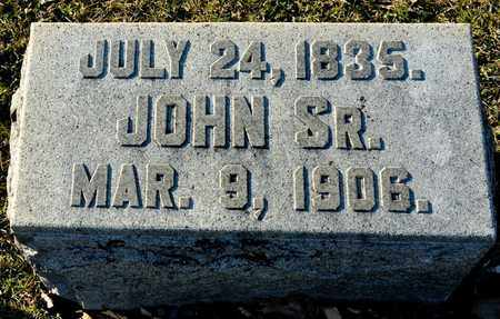 BALDWIN, JOHN - Richland County, Ohio | JOHN BALDWIN - Ohio Gravestone Photos