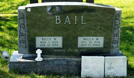 BALL, WILLA M - Richland County, Ohio | WILLA M BALL - Ohio Gravestone Photos