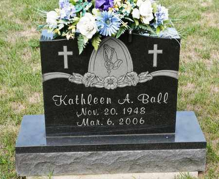 BALL, KATHLEEN A - Richland County, Ohio | KATHLEEN A BALL - Ohio Gravestone Photos