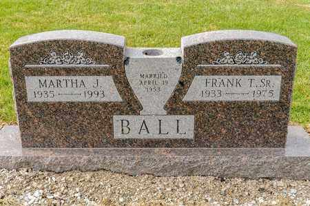 BALL SR, FRANK T - Richland County, Ohio | FRANK T BALL SR - Ohio Gravestone Photos