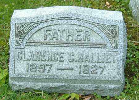 BALLIET, CLARENCE C. - Richland County, Ohio | CLARENCE C. BALLIET - Ohio Gravestone Photos