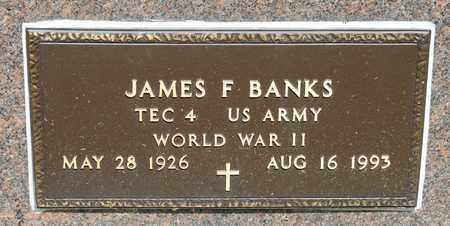 BANKS, JAMES F - Richland County, Ohio | JAMES F BANKS - Ohio Gravestone Photos