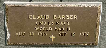 BARBER, CLAUD - Richland County, Ohio | CLAUD BARBER - Ohio Gravestone Photos