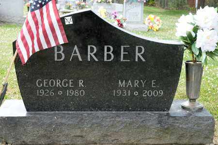 BARBER, MARY E - Richland County, Ohio | MARY E BARBER - Ohio Gravestone Photos
