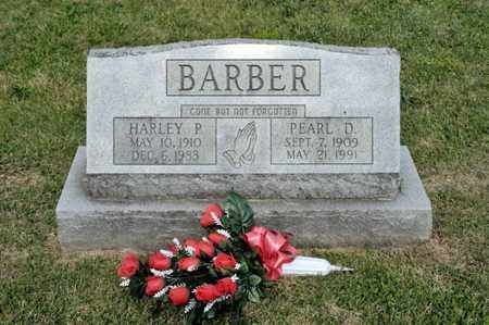 BARBER, PEARL D - Richland County, Ohio | PEARL D BARBER - Ohio Gravestone Photos
