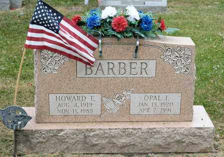 BARBER, HOWARD E - Richland County, Ohio | HOWARD E BARBER - Ohio Gravestone Photos