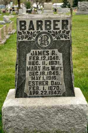 BARBER, JAMES R - Richland County, Ohio | JAMES R BARBER - Ohio Gravestone Photos
