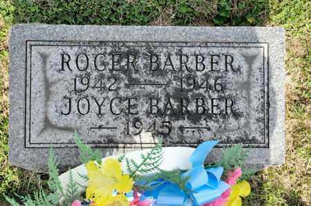 BARBER, JOYCE - Richland County, Ohio | JOYCE BARBER - Ohio Gravestone Photos