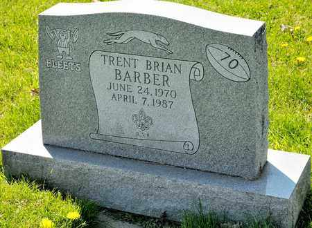 BARBER, TRENT BRIAN - Richland County, Ohio | TRENT BRIAN BARBER - Ohio Gravestone Photos